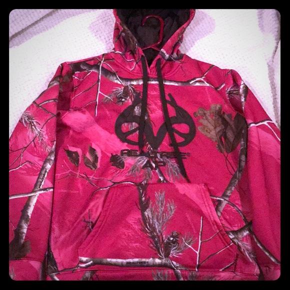 Realtree pink camo Sweatshirt